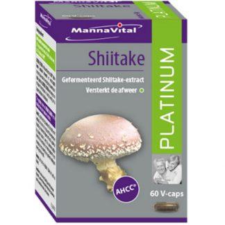 weerstand Mannavital Shiitake Platinum