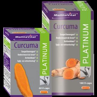 Curcuma klein en groot