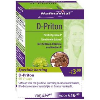 positief gemoed emotionele balans D-Priton promo