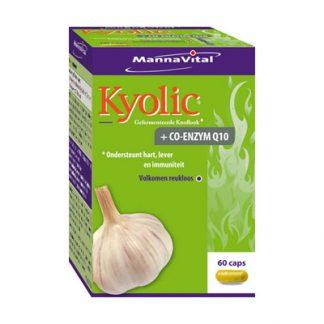 hart cholesterol lever immuunsysteem Mannavital Kyolic + Co-enzym q10