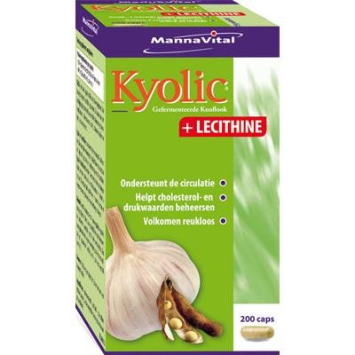 hart cholesterol lever immuunsysteem Mannavital Kyolic + Lecithine