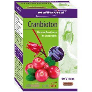 blaas urinewegen veenbes cranberries Mannavital Cranbioton