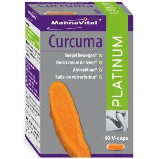 ontstekingen spieren gewrichten antioxidant immuunsysteem Curcuma Platinum