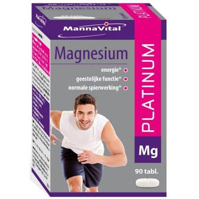 spieren krampen stress botten&gewrichten energie Mannavital Magnesium Platinum