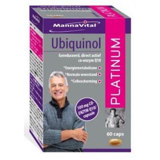 energie weerstand Mannavital Ubiquinol Platinum