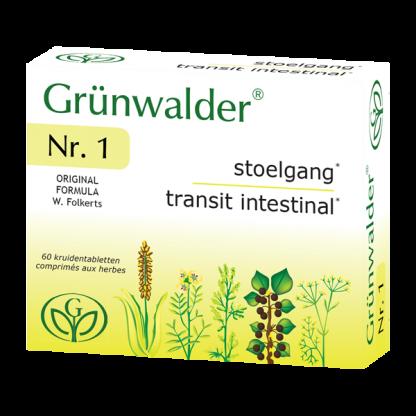 stoelgang constipatie kruidentablet Grünwalder Nr.1