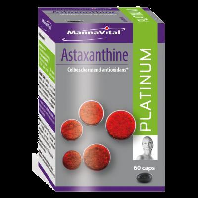antioxidanten celbescherming huid ontstekingen Mannavital Astaxanthine Platinum