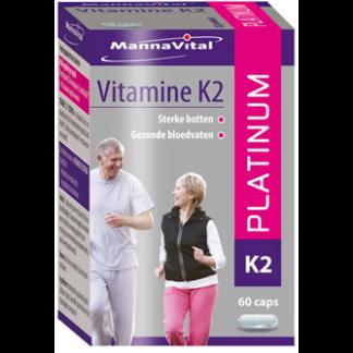 botten bloedvaten Mannavital Vitamine K2 Platinum