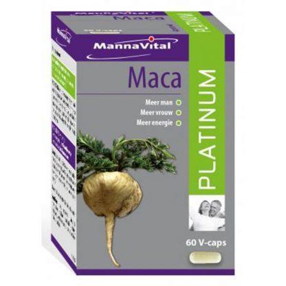 libido overgang energie geestelijk energie lichamelijk levenslust vitaliteit Mannavital Maca Platinum