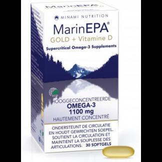 omega 3 hersenfunctie hartwerking gezichtsvermogen EPA DHA Minami Marinepa Gold + Vitamine D