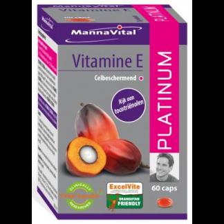 afweersysteem vrije radicalen zonlicht vervuiling Mannavital Vitamine E Platinum