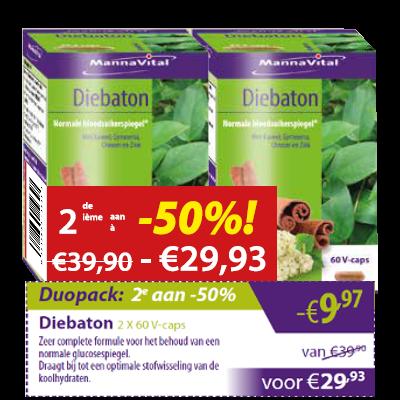 Diebaton Duopack 2e aan -50%