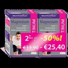 spieren krampen stress botten&gewrichten energie Mannavital Magnesium Platinum duopack