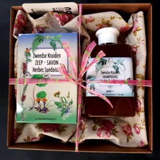 Geschenk Zweedse kruiden zeep en shampoo