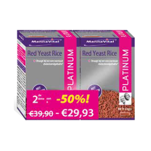 Red Yeast Rice Platinum Duopack 2e aan -50 procent