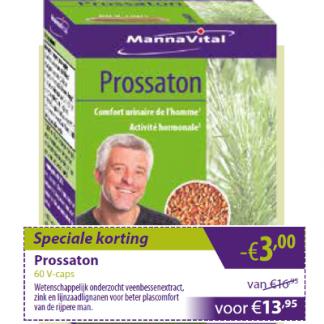 prostaat urinewegen testosteron Mannavital Prossaton min 3 euro
