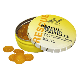 stress ontspanning Bach Rescue Pastilles
