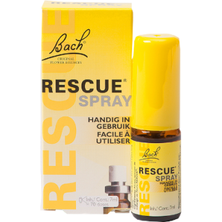 stress spanningen Bach Rescue spray