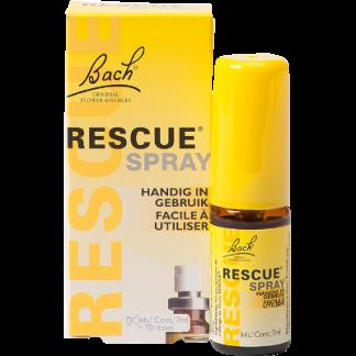 stress spanningen Bach Rescue spray