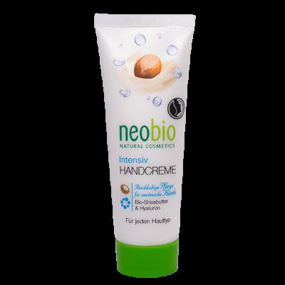 hendcrème biologisch droge beschadigde huid karitéboter hyaluron neobio