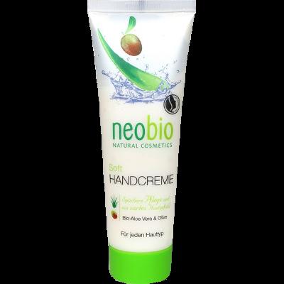 handcrème soft gevoelige droge huid karitéboter aloë vera olijfolie neobio