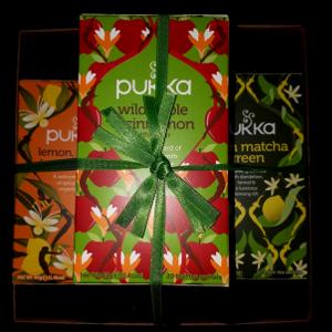 Geschenk Pukka thee 3 stuks