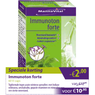 Mannavital Immunoton forte -€2