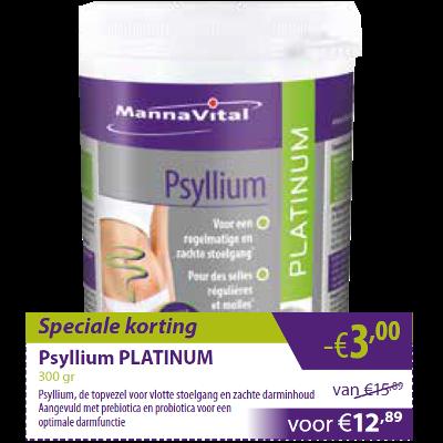 Psyllium Platinum -€3