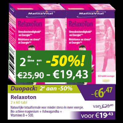 Relaxoton Duopack 2e aan -50%