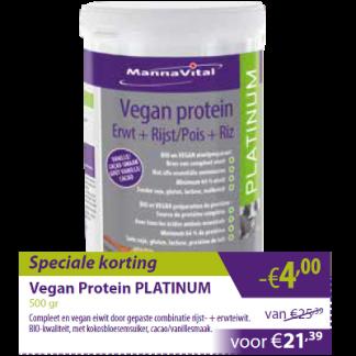 Vegan protein Platinum -€4