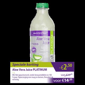 Aloë Vera Juice Platinum -€2,50