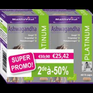 Ashwagandha Duopack 2e aan -50%