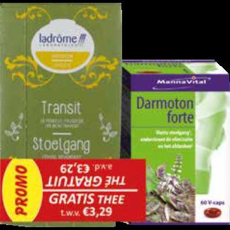 Darmoton Forte met gratis thee
