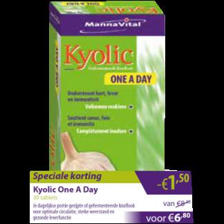 Kyolic one a day -€1,50