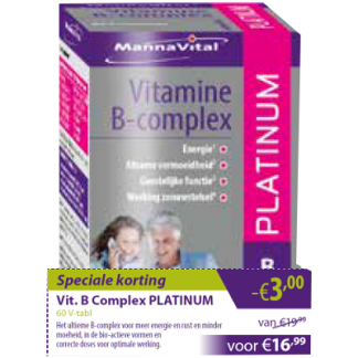 Vit B Complex -€3,00